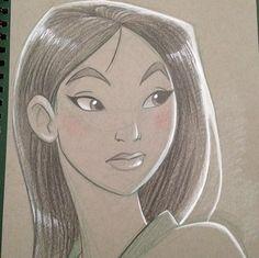 Brianna Cherry Garcia Disney Mulan