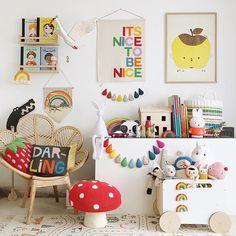Nursery Room, Kids Bedroom, Baby Room, Child Room, Playroom Decor, Kids Decor, Boy Decor, Decor Ideas, Rainbow Room