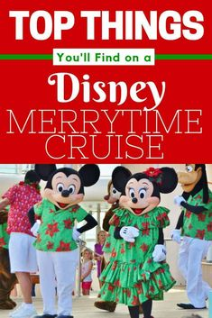 There is no better way to get yourself in the Christmas spirit than by taking Disney's Very MerryTime Cruise. Disney Cruise Line offers the Very MerryTime Cruise on sailings in November through Christmas. Disney Cruise Line, Disney Wonder Cruise, Disney Fantasy Cruise, Disney Insider, Cruise Travel, Cruise Vacation, Disney Travel, Italy Vacation, Family Cruise