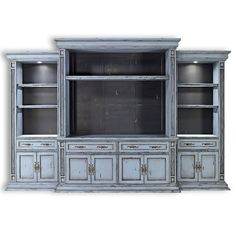 Entertainment Center. Wall Cabinet, Tv Console. 01