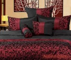 Black and burgundy colors wine burgundy bedroom color for Audrey bella chaise