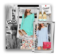 """""""Yoins 26."""" by lillili25 ❤ liked on Polyvore featuring GE, polyvoreeditorial, yoins, yoinscollection and PolyvoreMostStylish"""