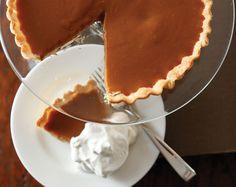 Caramel pie and Thanksgiving menu