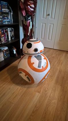 Picture of BB-8 on a budget