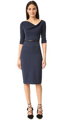 c894503827d 3 4 Sleeve Jackie O Dress