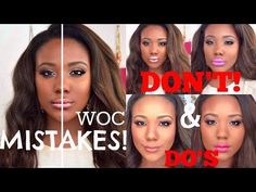 Drugstore Makeup Routine for African American Skin (Beginners) by ...