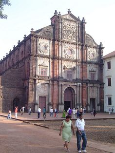 Basilica of Bom Jesus: The Basilica of Bom Jesus is located in Goa, India, and is a UNESCO World Heritage Site. The basilica holds the mortal remains of St. Francis Xavier. The church is located in Old Goa.  'Bom Jesus' (literally, 'Good (or Holy) Jesus') is the name used for the infant Jesus. The Jesuit church is India's first minor basilica, and is considered to be one of the best examples of baroque architecture in India.