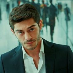 Image may contain: 1 person Most Handsome Actors, Handsome Guys, Murat And Hayat Pics, Turkish Beauty, Falling In Love With Him, Cute Beauty, Future Boyfriend, Turkish Actors, Best Couple