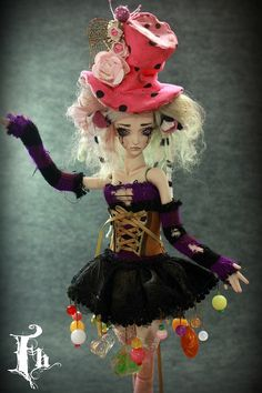 Doll , one of a kind dolls by Aidamaris Roman Forgotten Hearts | Flickr - Photo Sharing!