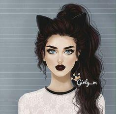 Girly-m Illustration
