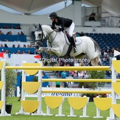 Penelope Leprovost and Mylord Carthago. Her equitation is almost always flawless and she is such a quiet rider.