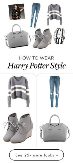 """grey or gray"" by specialtj on Polyvore featuring WithChic and Givenchy"