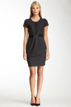 Emporio Armani Front Zip Dress by Non Specific on @HauteLook