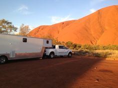 Dodge Ram conversion goes to Uluru Mirror Image, Ford Mustang, Recreational Vehicles, Dodge, Sydney, Australia, Specular Reflection, Ford Mustangs, Camper Van