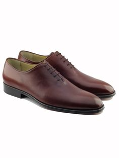 Dark Brown Leather, Calf Leather, Oxford Online, Fashion Shoes, Mens Fashion, Brown Oxfords, Brown Shoe, Calves, Oxford Shoes