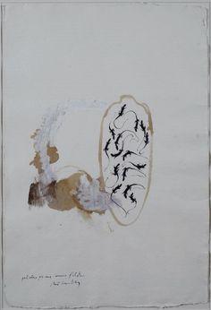 Pizzi Cannella Piero : Particolare per una camera d\'artista  - Tecnica mista su carta - Asta Autori Moderni e Contemporanei, Grafica ed Edizioni - Galleria Pananti Casa d\'Aste