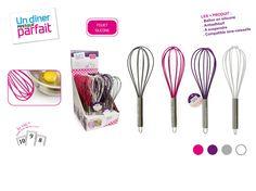 Ce pack comprend: - Un Fouet silicone - Une spatule silicone - Une manique silicone - Un pinceau silicone ...