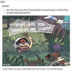 Pokemon ORAS - Secret Base