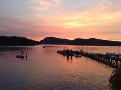 Sunset, Mayne Island, B.C.