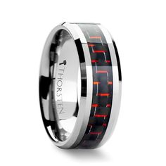 First Order Ring Symbol Black Tungsten Carbide Ring Thorsten Star Wars Force Awakens 4mm Tungsten Rings for Men Custom Engraving Comfort Fit 12mm Tungsten