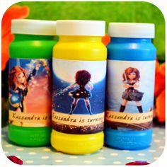 Disney Pirate Fairy Party - Bubbles Wrappers on Etsy with Kraftsbykaleigh #kraftsbykaleigh #disneypiratefairy #tinkerbell