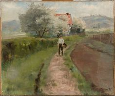Torsten Wasastjerna - ) Helene Schjerfbeck, Chur, Country Roads, Master Art, Europe, Painters, Finland, Sweden, Impressionism