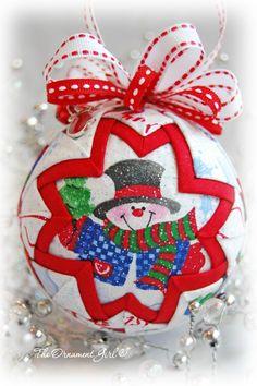 Snowy Day - Snow Globe Ornament