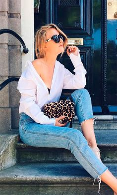 street style look casaco onça