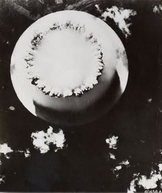Associated Press Photo, Views of the underwater Atomic Bomb explosion at Bikini Atoll., 1946 Auction 1012 photograph, Lot 167