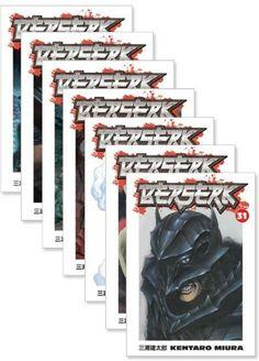 Berserk Graphic Novel Holiday Bundle 4 (31-37) - Price:$52.99 #RightStuf2013 #RightStuf2014