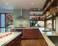 Mid Century Modern Kitchens Design, Pictures, Remodel, Decor and Ideas - page 3
