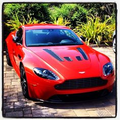 Cool Aston Martin V12 Vantage