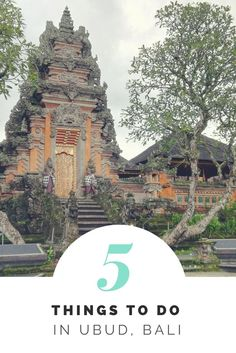 The beautiful water palace is definitely a must see in Ubud, Bali!