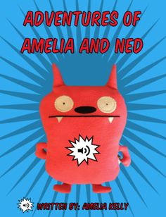 Amelia takes her new friend Ned on an adventure around her house. Book Creator, The Creator, New Friends, Amelia, Pikachu, Adventure, Books, Fictional Characters, Libros