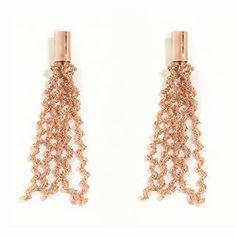#Pesavento DNA Pink #SterlingSilver Dangle #Earrings
