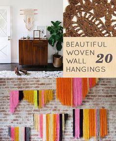 Beautifull woven wall hanging