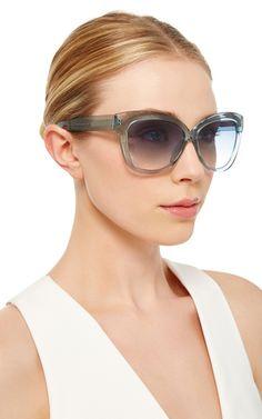 b174ca85dcf Crystal Cat Eye Sunglasses. Subtle Cat EyeLinda Farrow ...