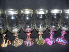 Hey, I found this really awesome Etsy listing at http://www.etsy.com/listing/170208844/redneck-wine-glassescamo-16-oz