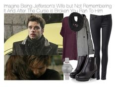 """""""Imagine Being Jefferson's Wife but Not Remembering It And After The Curse is Broken You Ran To Him"""" by fandomimagineshere ❤ liked on Polyvore featuring Once Upon a Time, Forever New, Don't Ask Amanda, Zara, Paula Bianco, Olivia Burton, women's clothing, women, female and woman"""