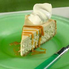 Cheesecake de caramel macchiato @ allrecipes.com.br