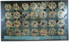 DEFİNE TUTKUNLARININ YERİ: kubadabad çini motifleri