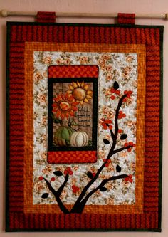 by melipatch - Frame, Home Decor, Scrappy Quilts, Picture Frame, Decoration Home, Room Decor, Frames, Home Interior Design, Home Decoration