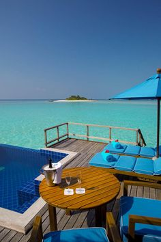 Anantara Dhigu Resort & Spa: Over Water Suites in the Maldives