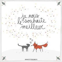 Bonne Année - Illustrations - Petits Béguins