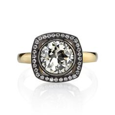 Single Stone Emmy Diamond Engagement Ring | Greenwich Jewelers