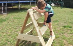 Play At Home Mom is a resource for parents & families, we share at home learning activities and educational games for infants, toddlers and school-age children. Outdoor Play Spaces, Kids Outdoor Play, Backyard For Kids, Outdoor Toys, Outdoor Fun, Natural Playground, Backyard Playground, Playground Ideas, Outdoor Activities