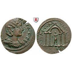 Römische Provinzialprägungen, Lydien, Saitta, Salonina, Frau des Gallienus, Bronze, ss-vz: Lydien, Saitta. Bronze. Magistrat… #coins