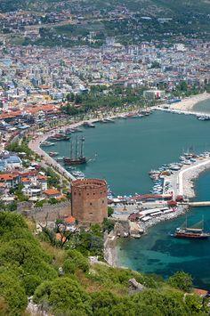 Harbour,  Alanya, Turkey , by Darrell Godliman