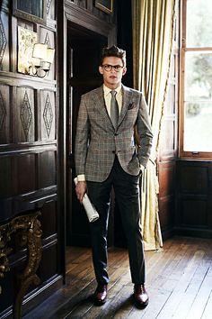 The Dapper Gentleman: Photo Gentleman Mode, Dapper Gentleman, Gentleman Style, Gentleman Fashion, English Gentleman, True Gentleman, Sharp Dressed Man, Well Dressed Men, Suits Outfits