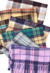 Tartan Cashmere Scarves